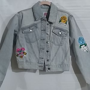 Juicy Couture Patch Denim Jacket NWT
